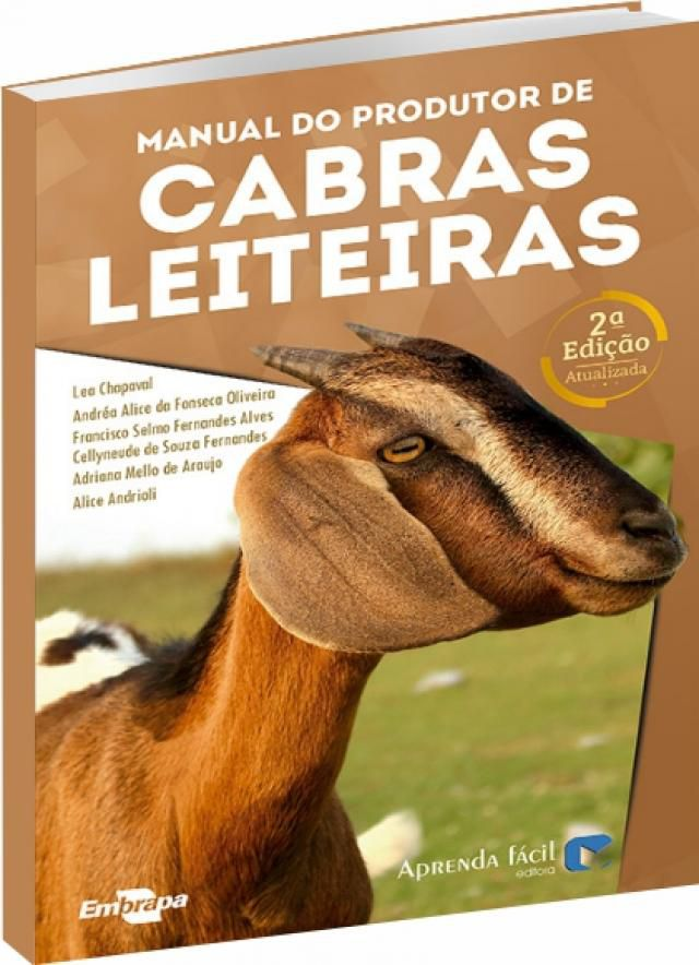 Manual do Produtor de Cabras Leiteiras