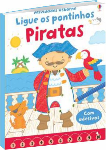 Piratas. Ligue Os Pontinhos