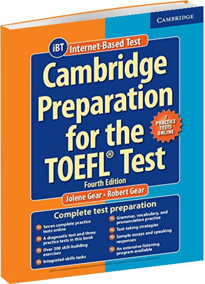 Cambridge Preparation For The Toefl Test - With Online Practice Tests - 4th Edition